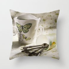 Keepsakes II Throw Pillow