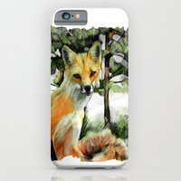 iPhone & iPod Case featuring P.E.I. Red Fox by bsvc