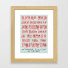 Dumpees Framed Art Print