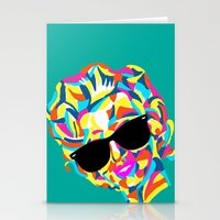 Hot Girl Stationery Cards