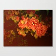 romance flowers Canvas Print