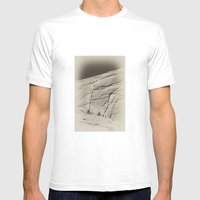 Yosemite Half Dome Hiker… Mens Fitted Tee White SMALL