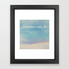 Rainbow Framed Art Print