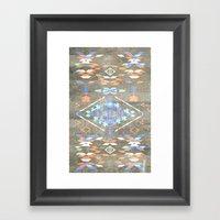 Native Aztec Framed Art Print