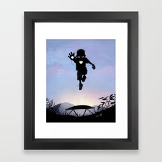 Iron Kid Framed Art Print