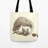Hector the Hedgehog Tote Bag