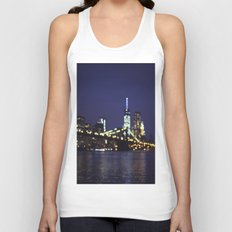 City Lights Unisex Tank Top