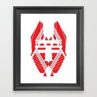 Geometric 1 Framed Art Print