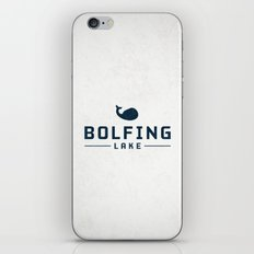 BOLFING LAKE iPhone & iPod Skin