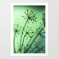 Firing Neurons Art Print