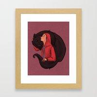 Don't Be Such a Sourwolf Framed Art Print