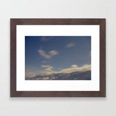 clear air Framed Art Print