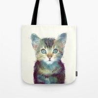Cat // Aware Tote Bag