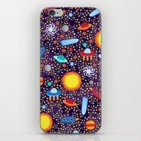 Crazy Cosmos iPhone & iPod Skin