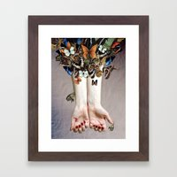 The Butterfly Project (2) Framed Art Print