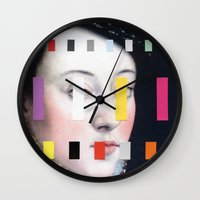 Portrait With A Spectrum… Wall Clock