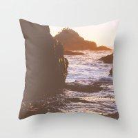 Sun Path Throw Pillow