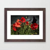 Royal Marine Remembrance Framed Art Print