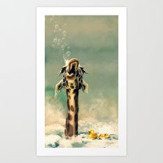The Bath Art Print