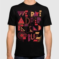 A Different Buzz Mens Fitted Tee Black SMALL