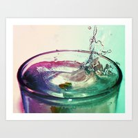 Thirsty Art Print