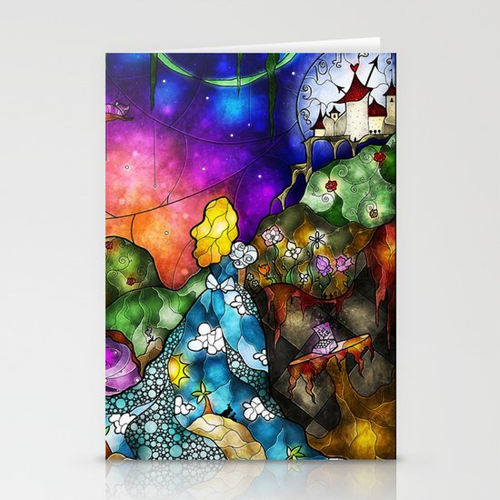 Wonderland (Once Upon A Time Series) Stationery Card