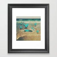 sea berries Framed Art Print