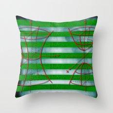 Figure 57 (Diagram Series) Throw Pillow