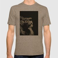 The Once and Future King (Lion) Mens Fitted Tee Tri-Coffee SMALL