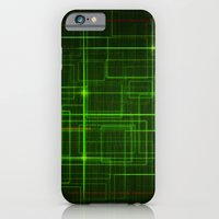 iPhone & iPod Case featuring Lines by DavidK