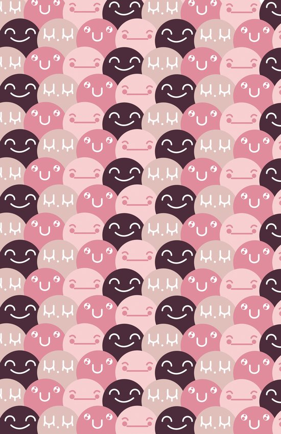 Pattern Smile Art Print