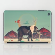 elephant in the cairmgormes iPad Case