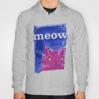 Crayon Cat Hoody