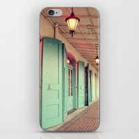 Throw Open the Shutters iPhone & iPod Skin