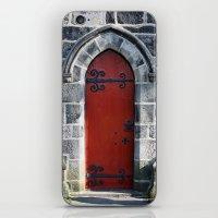 Red Door #4.2 iPhone & iPod Skin