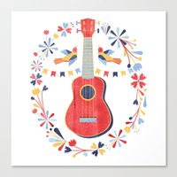 Sing A Song For Me Canvas Print