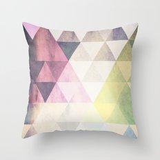 Geometric Groove Throw Pillow