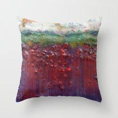 Colors of the Season (christmas abstract) Throw Pillow