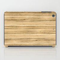 Zebrawood iPad Case