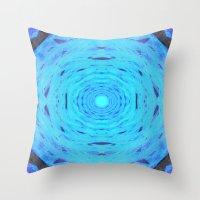 Hydro Nebula Throw Pillow