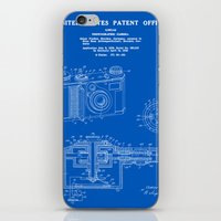 Camera Patent 1938 - Blueprint iPhone & iPod Skin