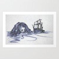 Siren Art Print