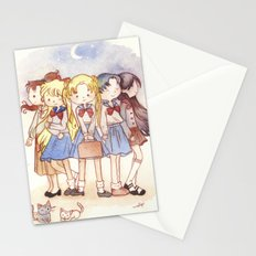 School Sailors Stationery Cards