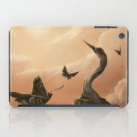 Crane And Moth  iPad Case