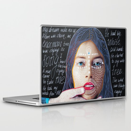 ::dream for a while:: Laptop & iPad Skin