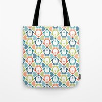 NGWINI - penguin love pattern 5 Tote Bag