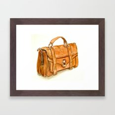 Brown Bag Framed Art Print