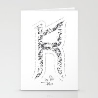 R - Is For Rare - White … Stationery Cards