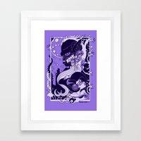 Horror Nouveau Framed Art Print
