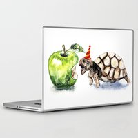 turtle Laptop & iPad Skins featuring Turtle by Anna Shell